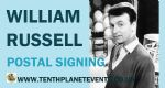 William Russell POSTAL SIGNING Processing